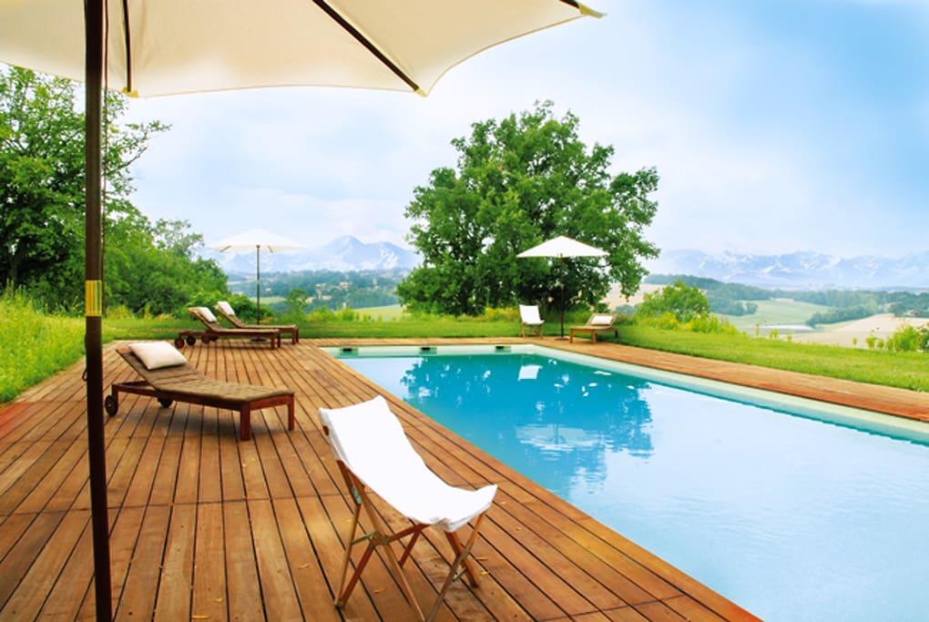 Superbe chambre de charme piscine chambres d 39 h tes - Chambre d hotes hautes pyrenees ...