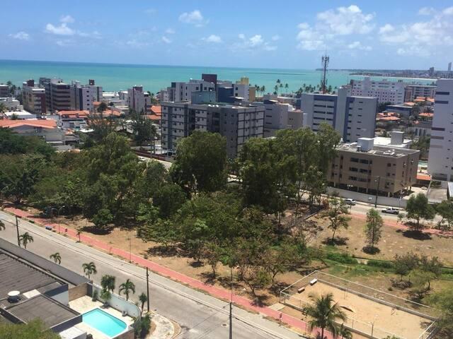 """Quarto suíte vista para Praia do Bessa"""""""