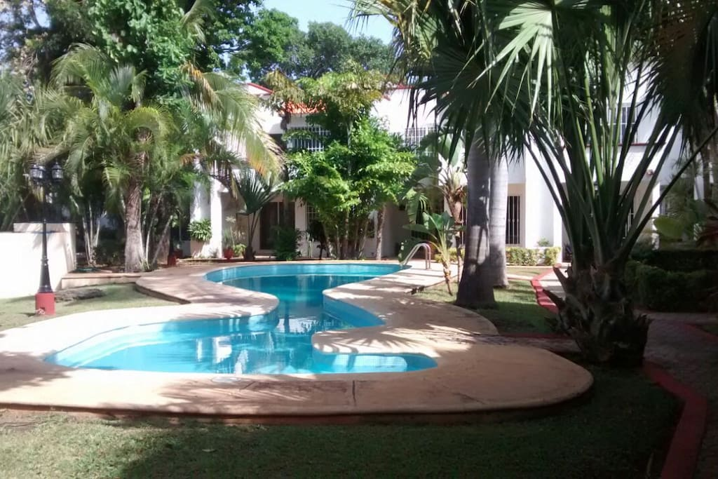 villas quetzal dorado townhouses for rent in canc n