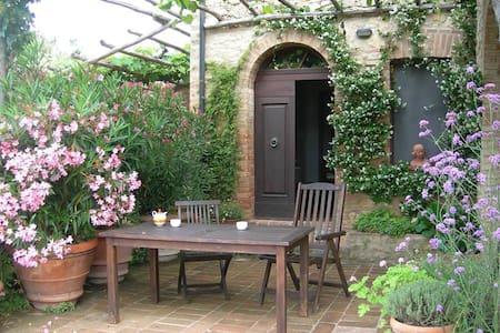 Le Pietraie, MIMOSA with garden. - Apartamento