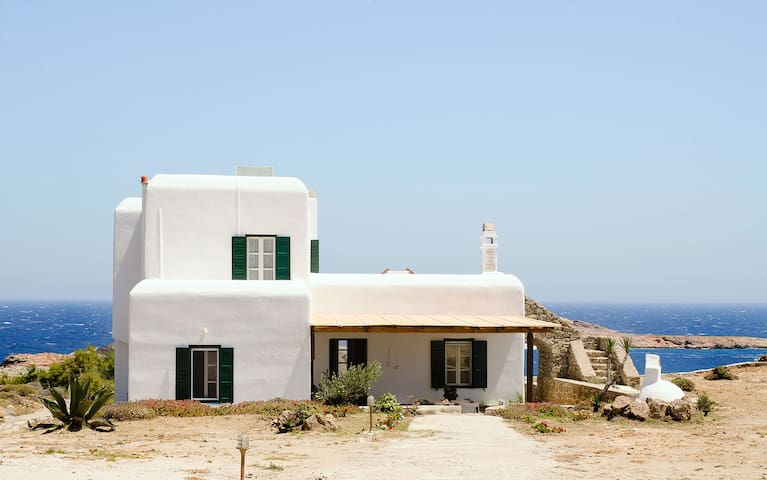 Sea View & Beach Access Traditional House Mykonos