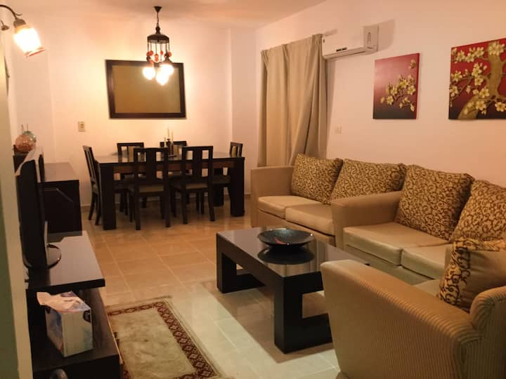 2 Bedroom Flat with Private Garden in Madinaty