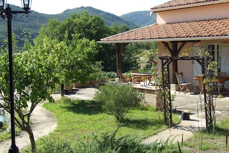 Modern villa in quiet village - Le Pradal
