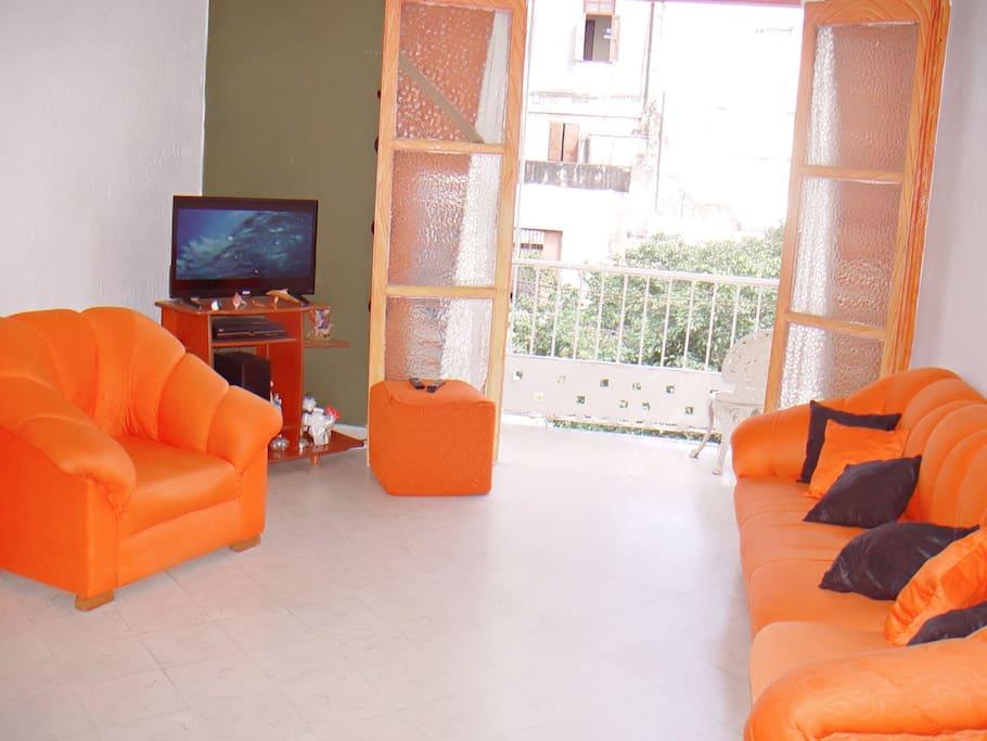 Sala con terraza