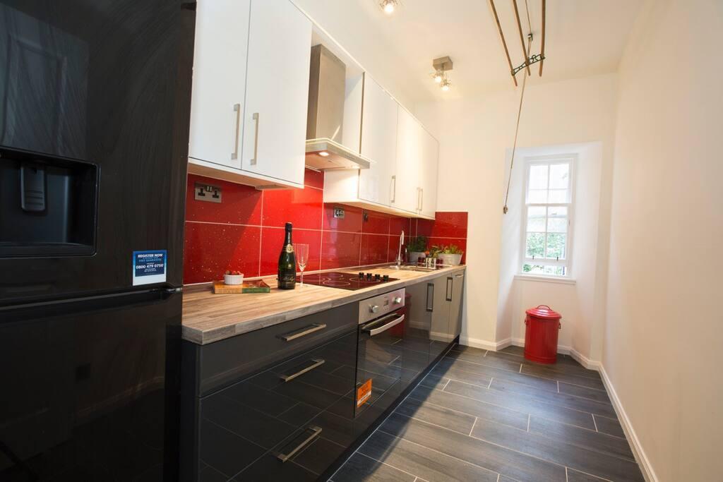New, modern kitchen