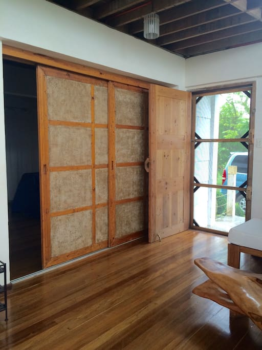 Main door and Sliding door for Bedroom 3