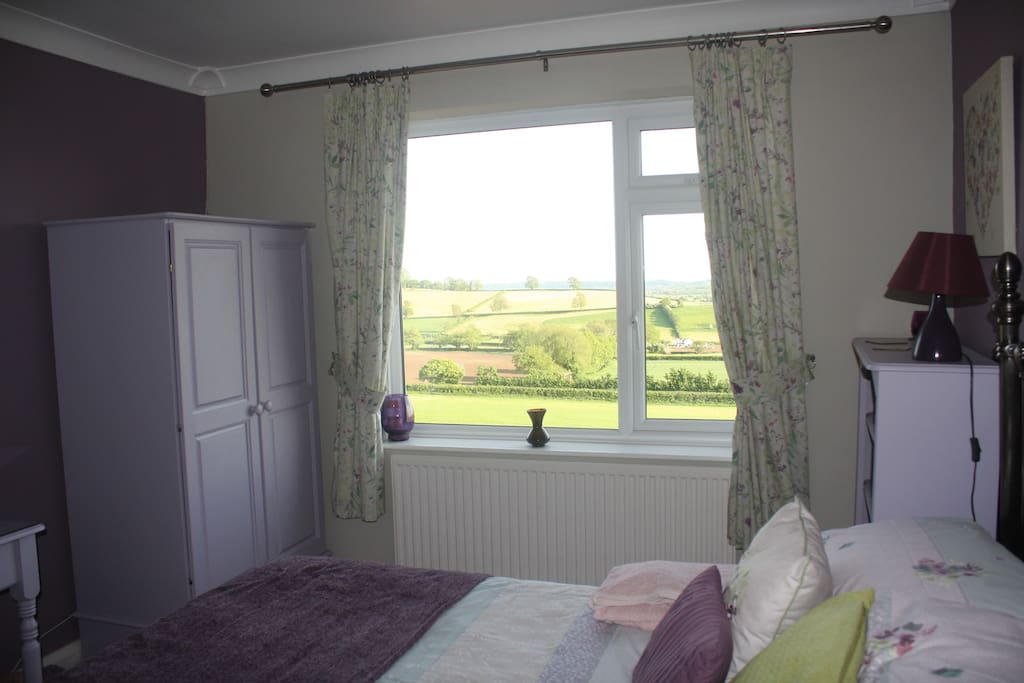 Your bedroom with a view