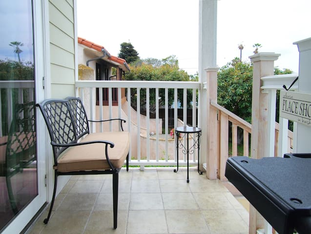 Sit and relax on the balcony