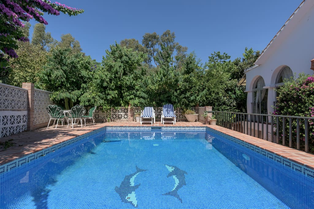 Villa privee 6p piscine plage ville in affitto a for Piscine marbella