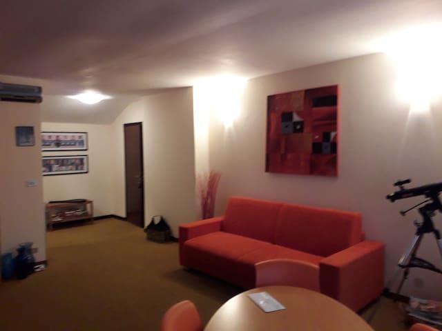 Appartamento panoramico in  residence di montagna