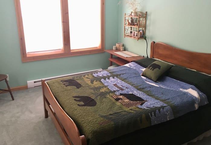 First floor double size bedroom