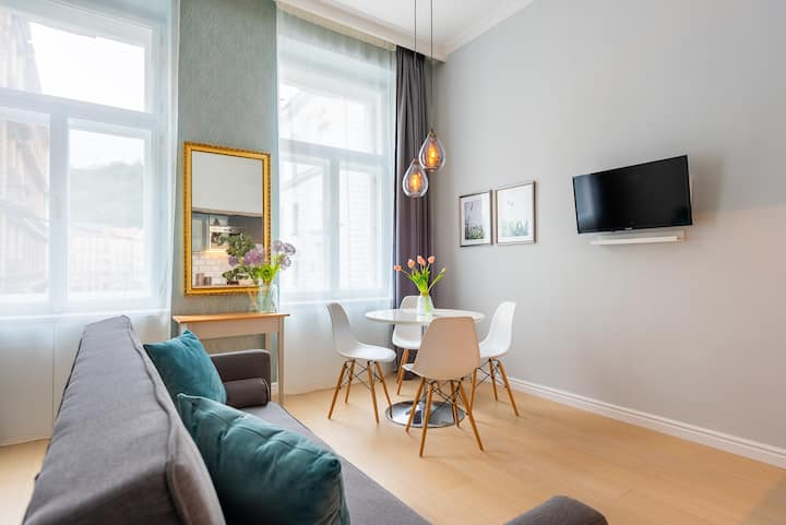 Luxurious & Chic studio: Charles bridge 8 mins NEW