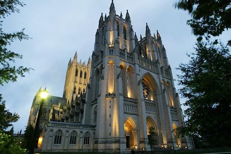 1 BR next to National Cathedral!