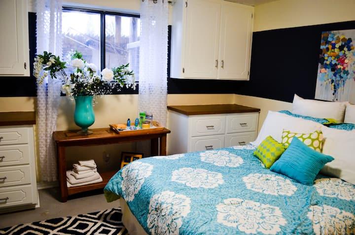 Beautiful Three Bedroom Private Basement