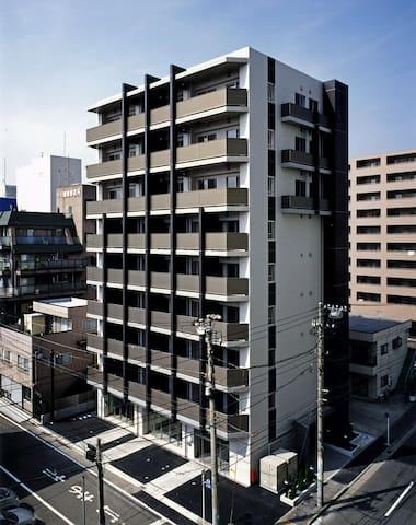 SOHO-Yokosukachuo/6min from Yokosuka-chuo Station - 横須賀市 - Apartamento