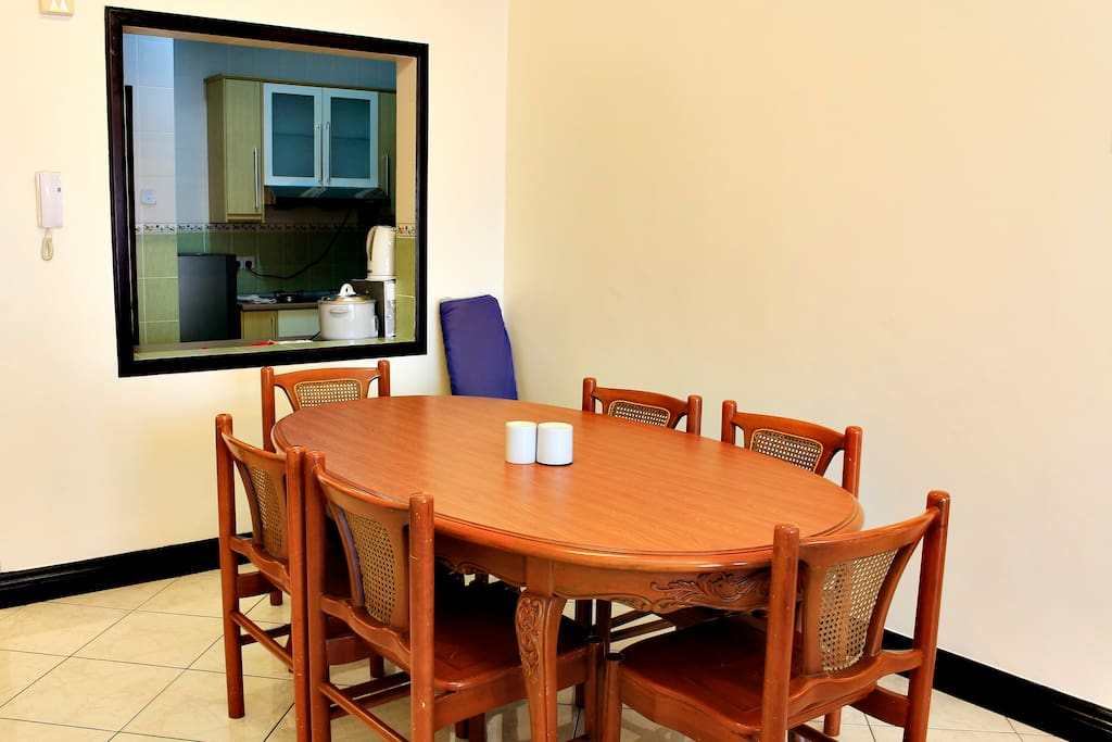 3Bedroom City View Apartment-Dining Area