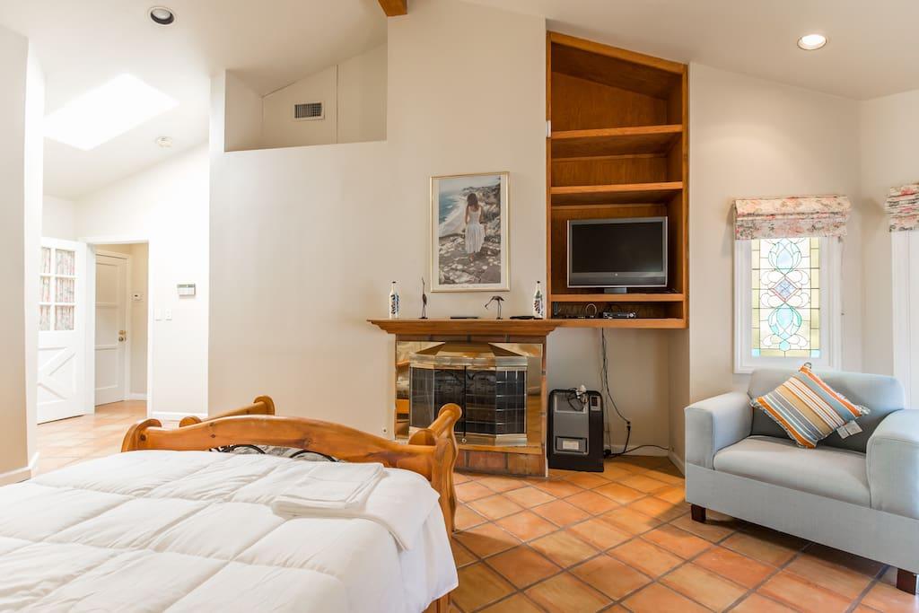 Full view of bedroom