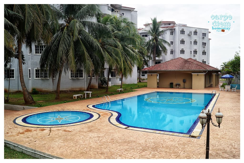 Pools are available for the guest of our homestay =)