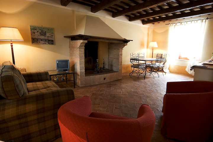 Charming apartments in Montefalco