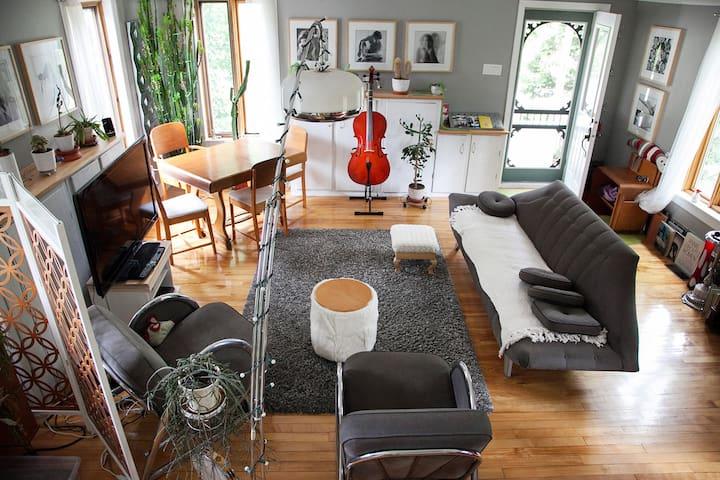 La campagne en ville: intime, sympa - Sherbrooke - House