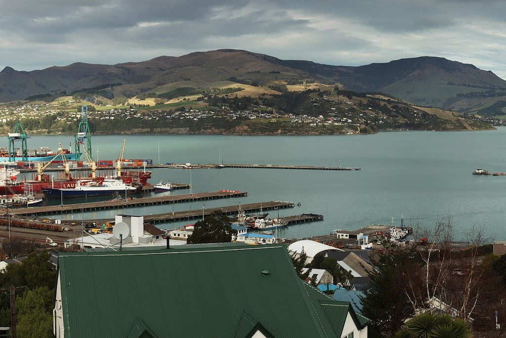 Views of Lyttelton Harbour