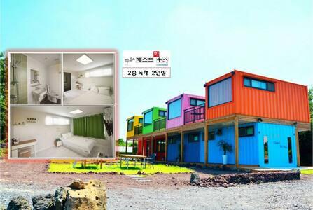 쭈욱컨테이너게스트하우스 2층 독채 12월~2월 비수기 특가할인! - Hallim-eub, Jeju-si