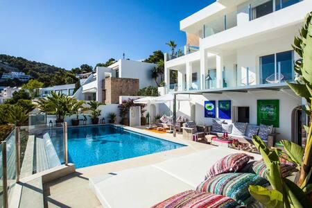 Stunning Seaview Villa in Roca Lisa - Sant Josep de sa Talaia