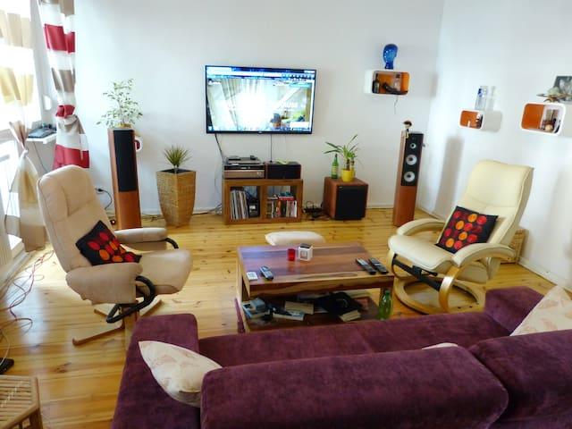 Komfortable 2-Raum Wohnung + Loggia