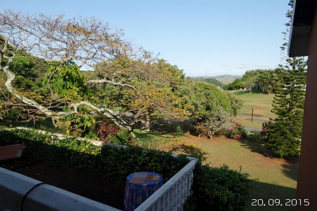Large patio perfect for family braai's.