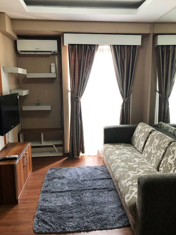 2BR Apartment Near Tol BORR & Stasiun Cilebut