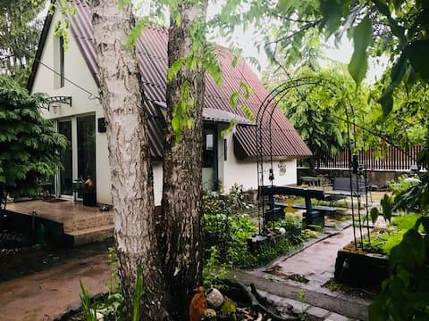 The Blue Bird House & Garden