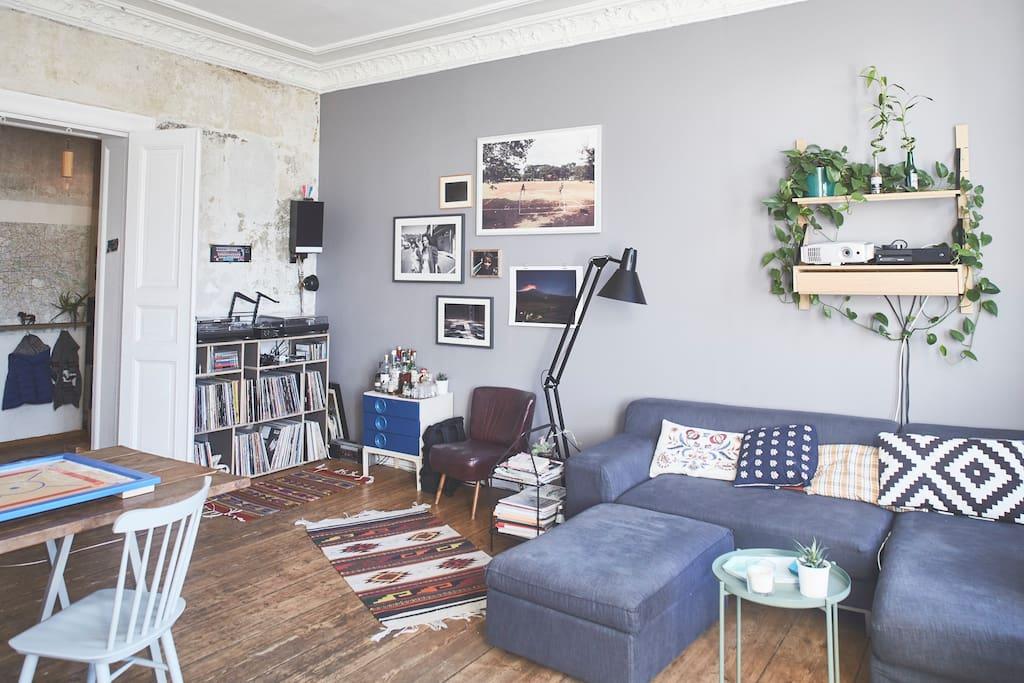 Super sunny altbau flat kreuzberg apartamentos en for Apartamentos en berlin