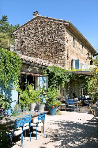 Restaurant&Gites Lafleurbleue N°37 - Crestet