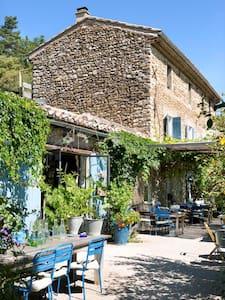 Restaurant&Gites Lafleurbleue N°37 - Crestet - Flat