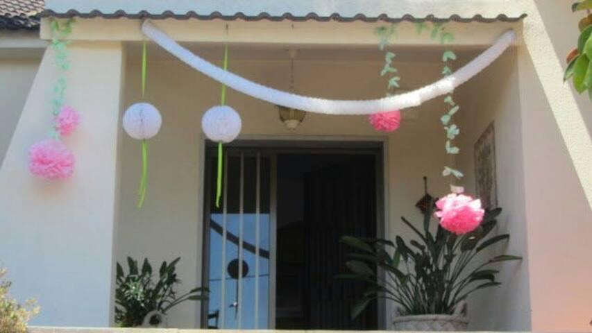 Um quarto em família numa moradia - Rio Maior