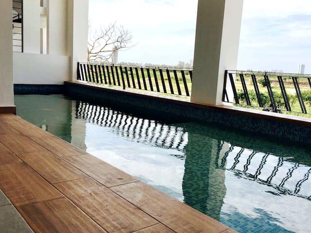 Loft en Marina Mazatlán  a 10 min de Playa
