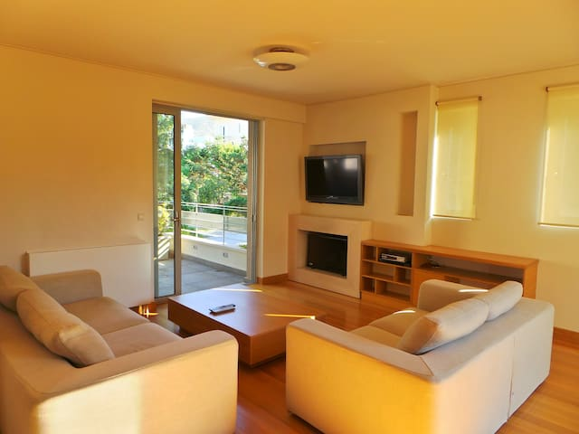 Amazing villa close to the beach! - Porto Rafti - Apartment