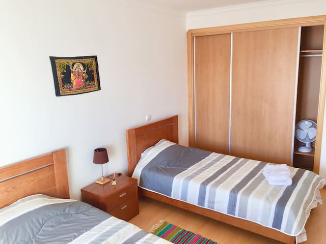 Modern Room in Nazare with Balcony and Sea View