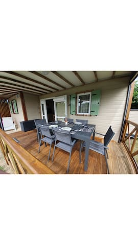 CHALET SPACIEUX ET AGREABLE