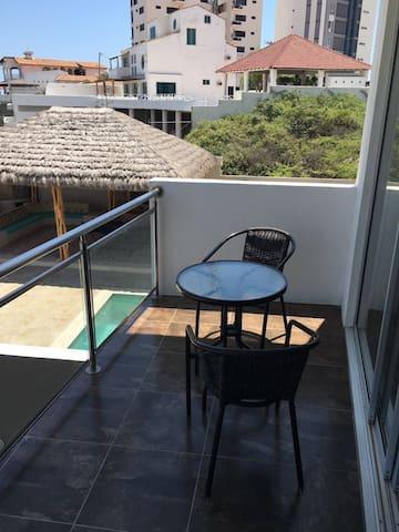 lindo apartamento con vista al mar - Punta Blanca