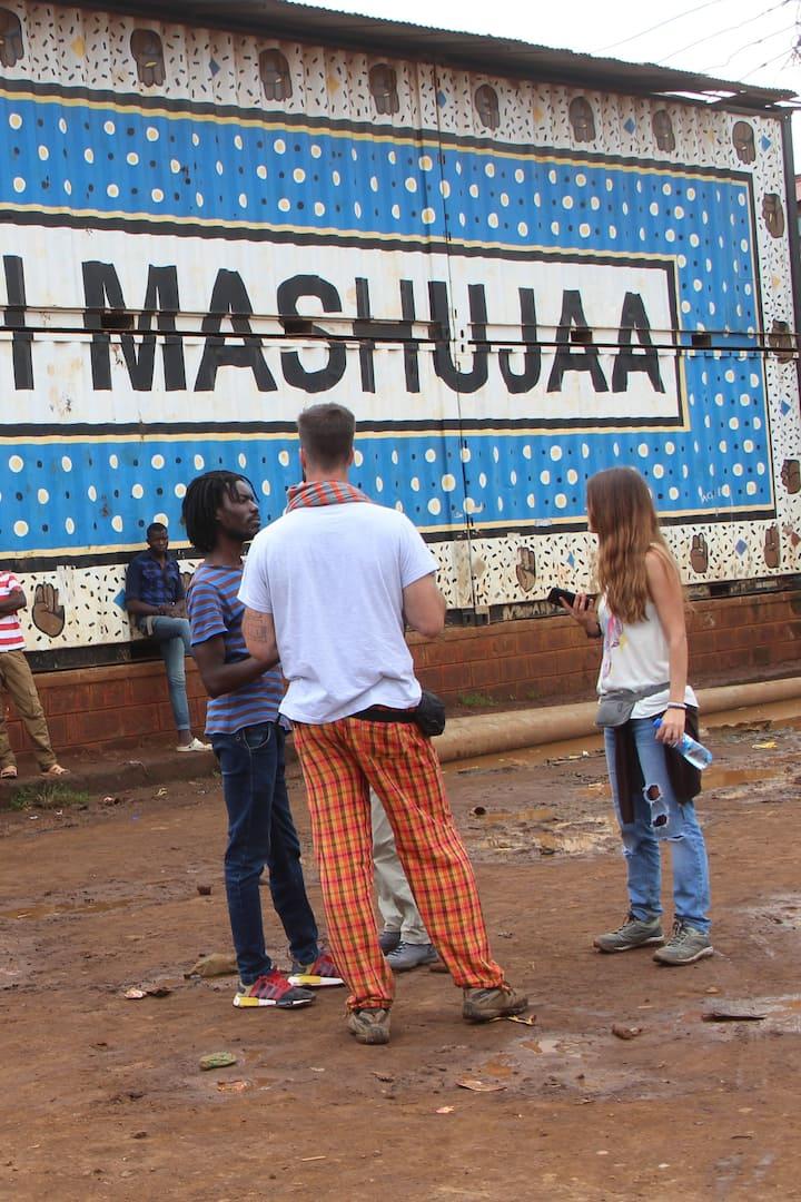 Discover Kibera's hidden arts