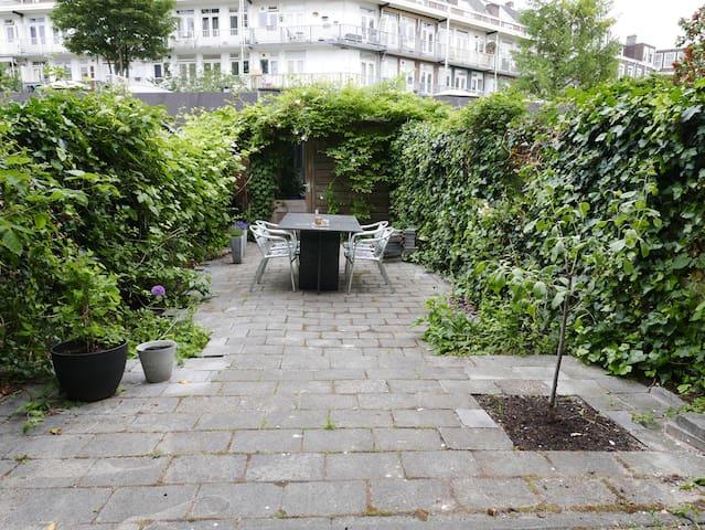 City center apartment with big garden
