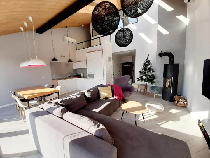 Apartament z SAUNĄ Sun House 90