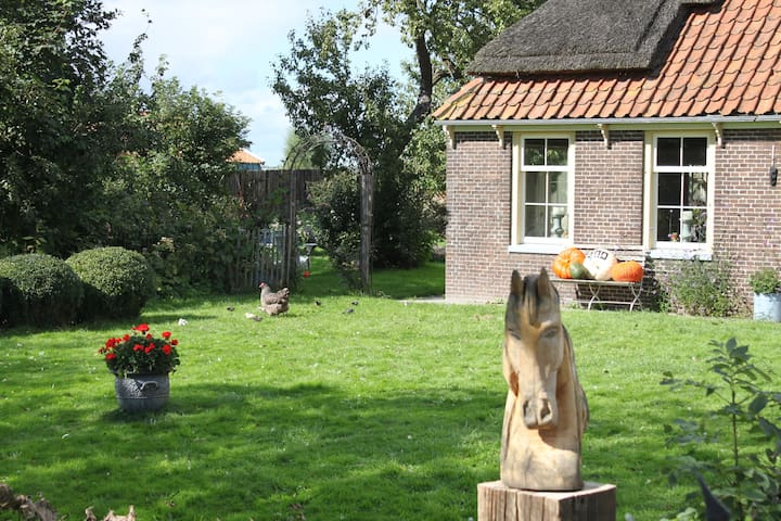 Old Farmhouse 30 min from Amsterdam - Spierdijk - บ้าน