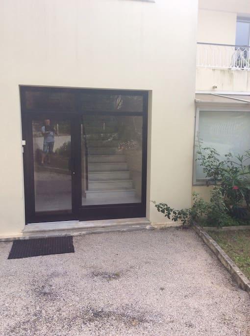 Entrée de l immeuble
