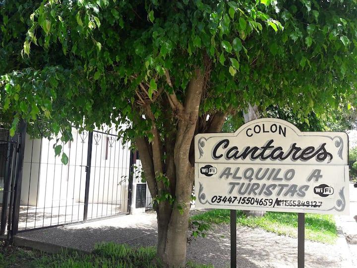 Colón Casa 6pax. 2c Puerto-Río 3centro 3000$arg