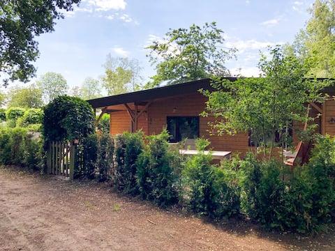 4 pers. WELNESS Woodhouse in natuurrijke omgeving
