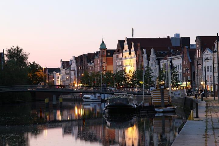 Gemütliche Ferienwohnung vor den Toren Lübecks