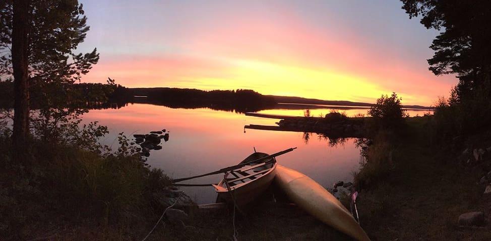 Båt og brygge