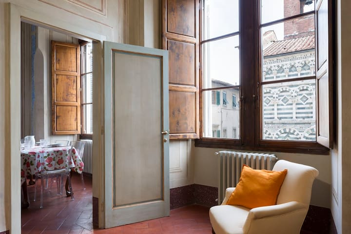 Trilocale in Palazzo Fioravanti - Pistoia  - Byt